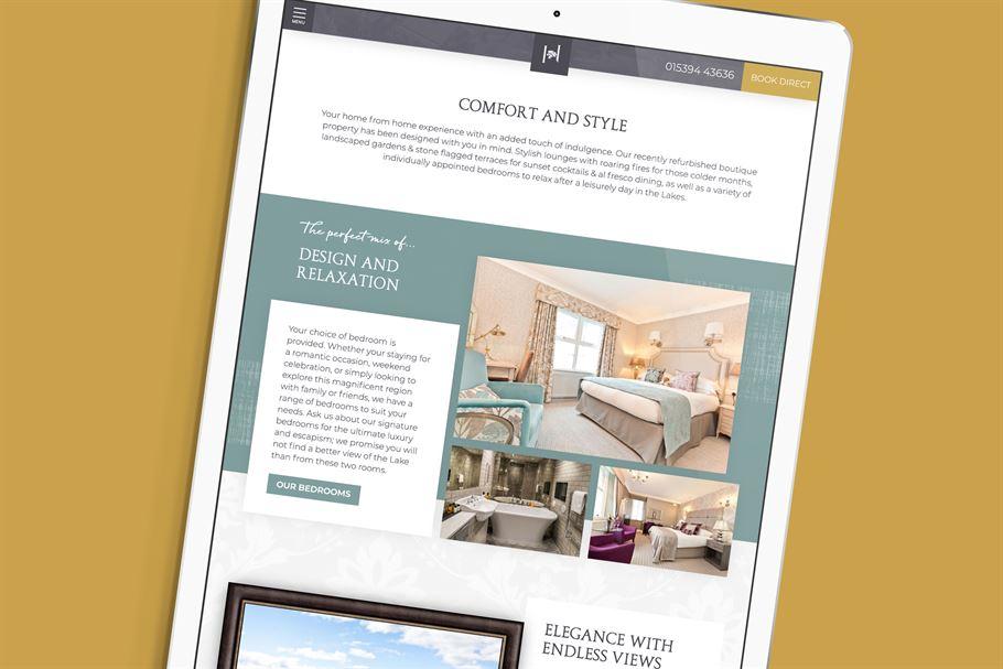 5b6965a56d5a Hillthwaite House Hotel web design